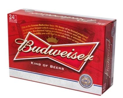 Kết quả hình ảnh cho Bia Budweiser 5% Mỹ - lon 330 ml