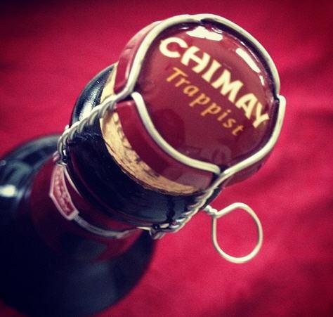 Bia Chimay Đỏ 75cl (nut chai)