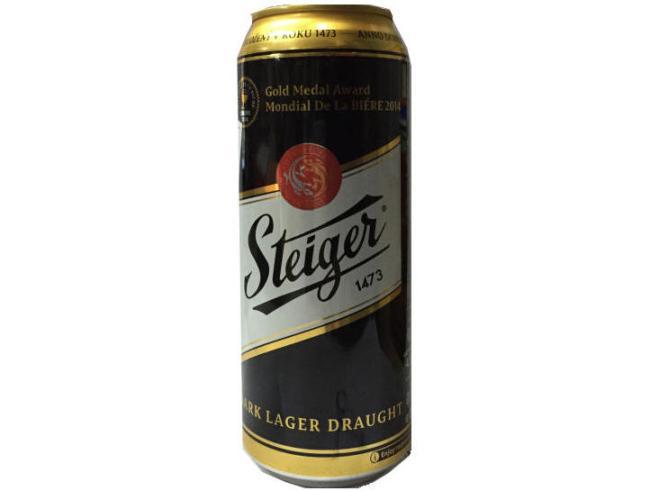 bia steiger tiệp bia đen lon cao 500 ml