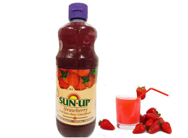 Image result for Nước Ép dâu Sun Up